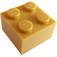 LEGO Pearl Gold Brick 2 x 2 (3003)