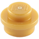 LEGO Pearl Gold Round Plate 1 x 1 (6141)