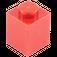 LEGO rouge Brique 1 x 1 (3005)