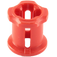 LEGO Red Bushing (6590 / 42798)