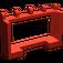 LEGO Red Hinge Car Roof Holder 1 x 4 x 2 (4214)