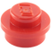 LEGO Red Round Plate 1 x 1 (6141)