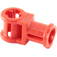 LEGO Red Technic Through Axle Connector with Bushing (32039)