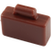 LEGO Reddish Brown Minifig Suitcase (4449)