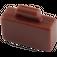 LEGO Reddish Brown Minifig Suitcase (4449)