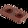 LEGO Reddish Brown Plate 1 x 2 (3023)