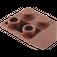 LEGO Reddish Brown Slope 2 x 2 (45°) Inverted (3660)
