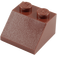 LEGO Reddish Brown Slope 45° 2 x 2 (3039)