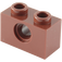 LEGO Reddish Brown Technic Brick 1 x 2 with Hole (3700)