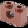 LEGO Reddish Brown Technic Brick 1 x 2 with Hole (3700)