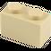 LEGO Tan Brick 1 x 2 (3004)
