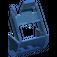 LEGO Transparent Dark Blue Crane Grab Jaw