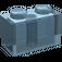 LEGO Transparent Light Blue Brick 1 x 2 (3004)