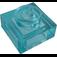 LEGO Transparent Light Blue Plate 1 x 1 (3024 / 28554)