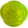 LEGO Transparent Neon Green Plate 1 x 1 Round (30057 / 34823)