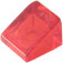 LEGO Transparent Red Slope 31° 1 x 1 (35338 / 50746)