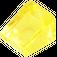 LEGO Transparent Yellow Slope 1 x 1 (31°) (35338 / 50746)