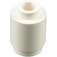 LEGO White Brick Round 1 x 1 with Open Stud (3062)
