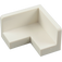 LEGO White Panel 2 x 2 x 1 Corner with Rounded Corners (31959 / 91501)