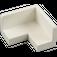 LEGO White Panel 2 x 2 x 1 Corner with Rounded Corners (31959 / 91501)