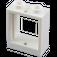 LEGO White Window 1 x 2 x 2 without Sill (60592)