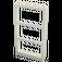 LEGO Window 1 x 4 x 6 Frame with Three Panes (46523 / 57894)