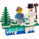 LEGO Winter Holiday Magnet (853663)