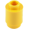 LEGO Yellow Brick Round 1 x 1 with Open Stud (3062)