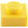 LEGO Yellow Plate 1 x 1 (3024)