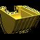 LEGO Yellow Technic Excavator Bucket 6 x 9 without Teeth